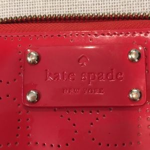 Kate Spade red hearts wallet